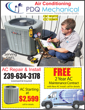 Shopper Coupon Book. Coupon for AC Air condition company prices coupons reviews Best Shopping Deals Coupon Book. AC coupon for PDQ Mechanical air condition contractor